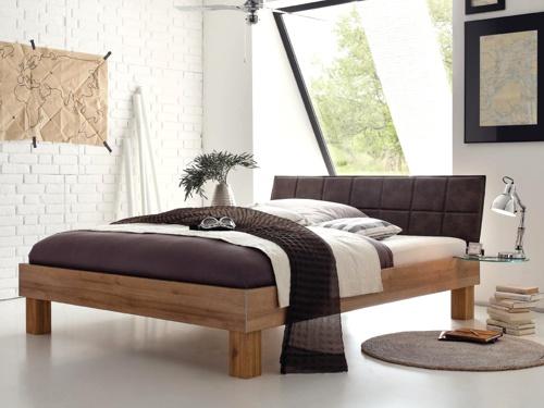 bett 200x220 stunning bett wei grau landhaus design. Black Bedroom Furniture Sets. Home Design Ideas