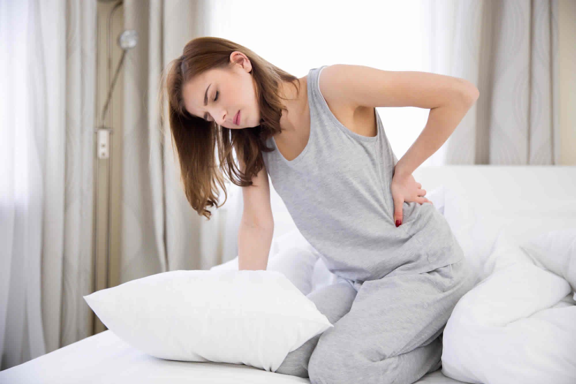 Welches Bett bei Rückenschmerzen